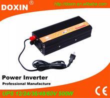 off grid 500w Portable Digital Solar Power Home UPS inverter Kits dc to ac 12v 220v