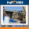 best price mobile haomei concrete mixing plant