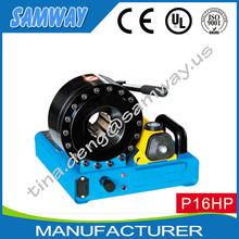 Professional manufacture Samway P16HP mini manual hydraulic hose crimping machine
