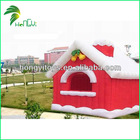 Guangzhou Hot Selling and Competitive Price Qute Inflatables Christmas Decorations Inflatable Yard Decoration Christmas House