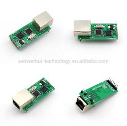 WWH-RJ45 Lan module to TTL /Ethernet TCP/IP to UART RS232 Serial Server Module