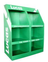 Retail pop Corrugated Cardboard display& floor cardboard display