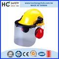 industriale contro impatto della testa protezione pc visiera casco di sicurezza paraorecchie