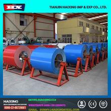 De alta qualidade PPGI bobina de zinco 120 g / sqm cor revestido bobina de aço galvanizado