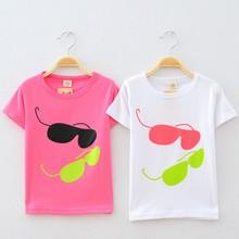 Z81562C korean newest fashion 100%cotton cute children's t-shirts kids t-shirts kids tops