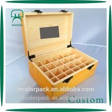 Hot Sale Good Quality Essential Oil Wood Box