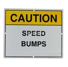 Aluminum Speed Bump Sign