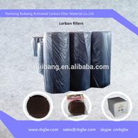activated carbon felt mat fiber/charcoal air filter