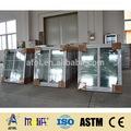 Zhejiang 2015 afol grades janelas cores/janela da grade de design/janela de alumínio fábrica
