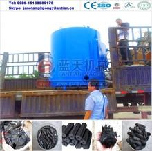Energy saving large capacity bamboo charcoal carbonization stove