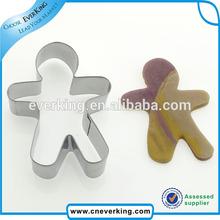 Custom Gingerbread Man Cookie cutters