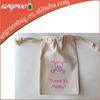 Plain White Cotton Bag Pouch