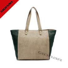 The Best Selling Leather Woven Bag &Crocodile Handbag Women Tote Handbags Export