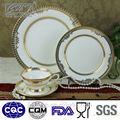 série de tasse de café et de tasse de thé Chine avec dessin royal en or