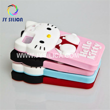 C118 Dual-protective hello kitty shaped cell phone covers for iphone 5