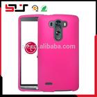 New 2014 slim shell rubberized PC hard full protector case mobile phone for lg g3