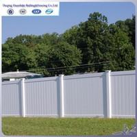 cheap vinyl plastic pvc fence