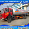 FAW 6x4 Left hand drive lpg transport tank truck for sale
