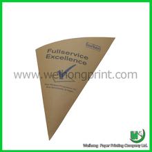 snack food packaging brown paper bag