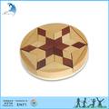 Diy adulto / Kids / crianças de alta Grade / Best selling Natural artesanal quebra-cabeça de madeira Pento estrela chinês qi jogo de Puzzle brinquedos