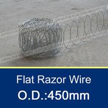 BTO-10, 450mm Flat Razor Barbed Wire
