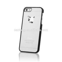 Black Devil Demon Laser Transparent Mobile Phone Bags & Cases for iPhone5 5s 5g