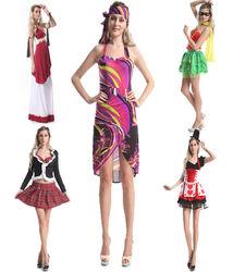 2014 instyles 1920s wholesale Ladies Sexy Hippie costumes Roman costume Ladies fancy dress