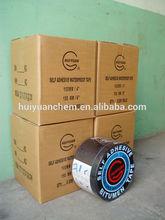 manufacturer: 50mm X 2.5m self adhesive aluminium roofing flashing tape, adhesive bitumen flashing band