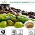 Di alta qualità caffè verde estratto di fagiolo prezzo di acido clorogenico del 50%)