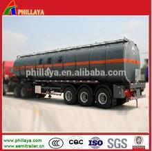 liquid asphalt tank trailer with heat preservation system (volume optional)