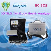 2014 Latest Version High Quality Original Spanish 3D NLS Body Health Analyzer