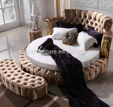 Round bed designs 2014 BR01