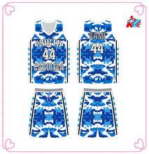 2014 Sublimation League Cheap Camo Basketball uniform