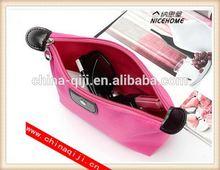 wholesale customize Outside Insert Handbag Makeup Cosmetic Purse travel luggage bags
