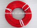 de silicona de nicrom alambre de la calefacción cable agr