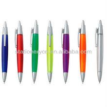 Cheap mini pen with rhinestone polyclay pen