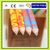 New stye rainbow color pencil,,four color in one lead with EN71,ASTM ,F963 standard
