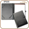A5 leather folio case with Ipad holder