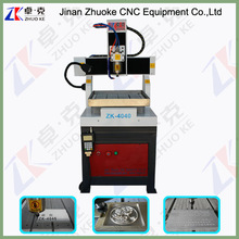 CNC High Speed Metal Engraver 400*400MM ZK-4040 OEM Available