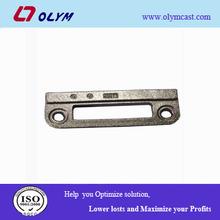 OEM lost wax steel alloy investment casting lock door/window part