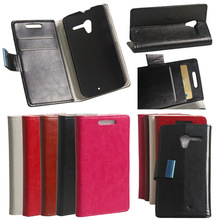 For Motorola Moto X PU Leather Credit Card Wallet Stand Cover Protective Case
