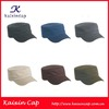 wholesale promotional OEM high quality flat top canvas fashion hot sale design your own custom army cap/hat