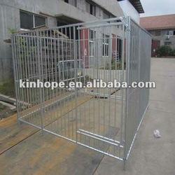 Galvanized steel dog kennel (Factory)