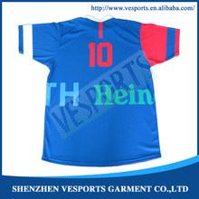 Reversible custom sublimation soccer jerseys