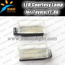No Error Free LED Courtesy side Door Light for Toyota FT86 Crown (05-08) Lexus is 2013~, Xenon White car Door Courtesy LED Lamp