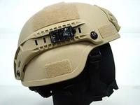 MICH TC-2000 ACH Helmet w/NVG Mount & Side Rail Tan military helmet