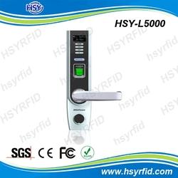 HSY-L5000 Optical Sensor biometric fingerprint door lock with lowest price