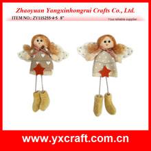 Christmas angel ZY11S255-4-5 8'' stuffed santa