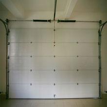 Finger protect sectional garage door, 5 panel garage door with single or double track