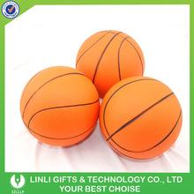 Custom Basketball Shape PU Toy Stress Ball